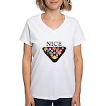 Nice Rack Women's V-Neck T-Shirt