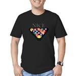 Nice Rack Men's Fitted T-Shirt (dark)