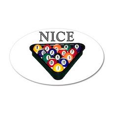 Nice Rack 38.5 x 24.5 Oval Wall Peel