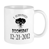 I Survived Doomsday 2012 Blac Mug