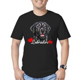 Love Labradors - Black T