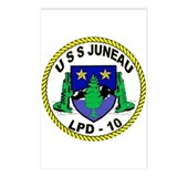 USS Juneau LPD 10 Postcards (Package of 8)