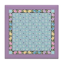 Vintage Bouquet Ceramic Tile Coaster4.25Sq