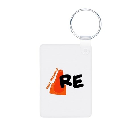 Rally -RE Aluminum Photo Keychain