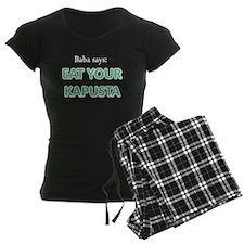 Eat Your Kapusta Pajamas
