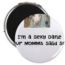 "Unique Deaf dog 2.25"" Magnet (10 pack)"