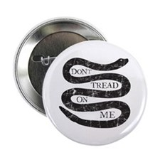 """Colonial Don't Tread On Me 2.25"""" Button"""