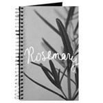 Winter Rosemary Notebook