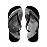 Walking on the Moon Flip Flops