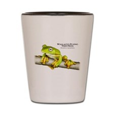 Wallace's Flying Frog Shot Glass