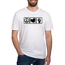 PEACE-LOVE-OCCUPY Shirt