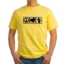 PEACE-LOVE-OCCUPY T