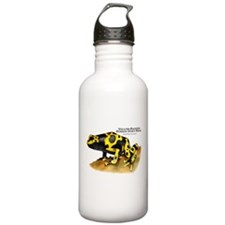 Yellow-Banded Poison Dart Fro Water Bottle