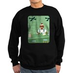 Sock Monkey Bartender Sweatshirt (dark)