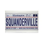 Squanderville Rectangle Magnet