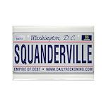 Squanderville Rectangle Magnet (100 pack)