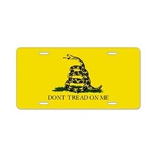 Don't Tread On Me / Gadsden Flag Aluminum License