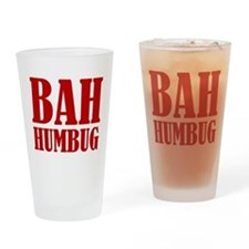 Bah Humbug Drinking Glass