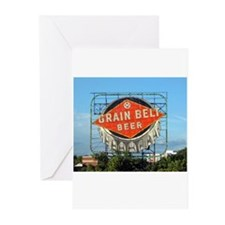 Grain Belt Sign Greeting Cards (Pk of 10)
