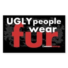 No Fur Stickers & Pins - Decal