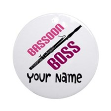 Bassoon Boss Customized Ornament