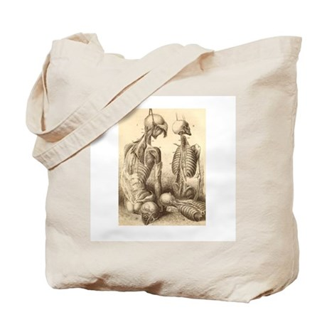 Medical Skeletons and Cadavers Tote Bag