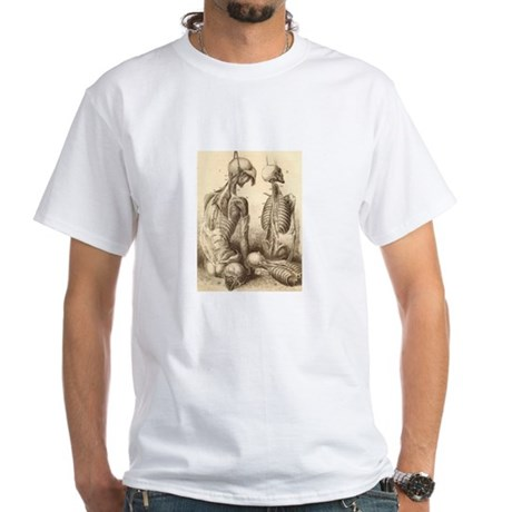 Medical Skeletons and Cadavers White T-Shirt