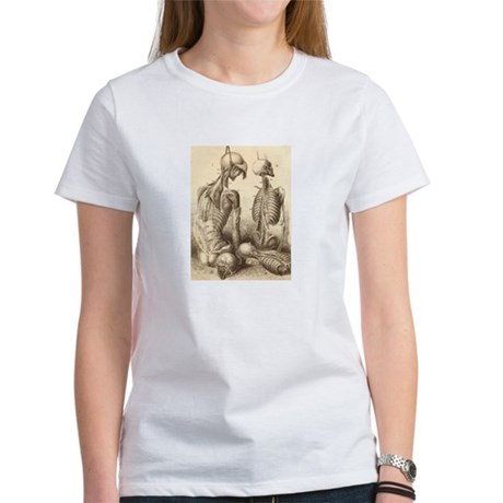 Medical Skeletons and Cadavers Women's T-Shirt