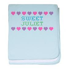 Sweet JULIET baby blanket