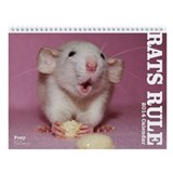 2013 Rats Rule Wall Calendar