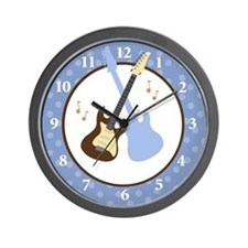 Rock Star Baby Guitars Wall Clock