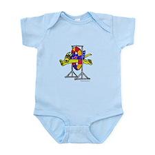 Super Doggie Jump Infant Bodysuit