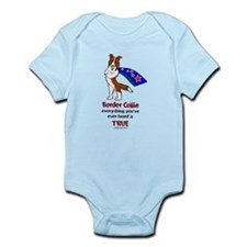 Super Border Collie - everyth Infant Bodysuit