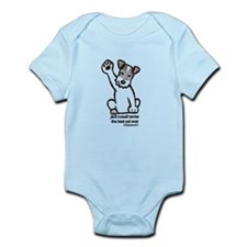 Jack Russell Greeting Infant Bodysuit