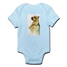 Australian Terrier beg Infant Bodysuit