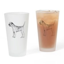 Border Terrier Drinking Glass