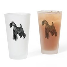 Kerry Blue Terrier Drinking Glass