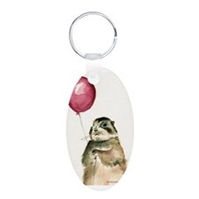 Prairie Dog With Balloon Keychains