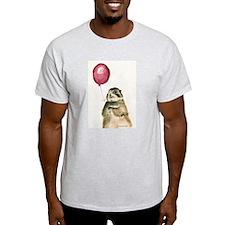 Prairie Dog With Balloon T-Shirt