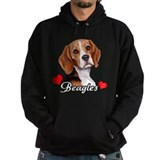 Love Beagles Hoody