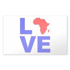 Love Africa Decal