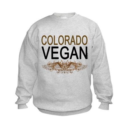 Colorado Vegan Kids Sweatshirt