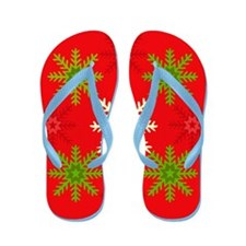 Snowflake Array Flip Flops