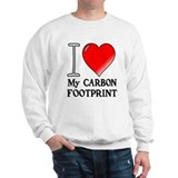 I Love My Carbon Footprint! Sweater