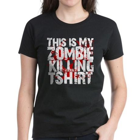 This is My Zombie Killing t-s Women's Dark T-Shirt