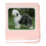 Old English Sheepdog 9F054D-18 baby blanket