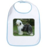 Old English Sheepdog 9F054D-18 Bib
