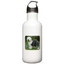 Old English Sheepdog 9F054D-17 Sports Water Bottle