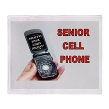 DIAL TONE Throw Blanket