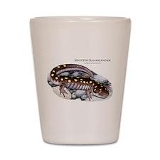 Spotted Salamander Shot Glass
